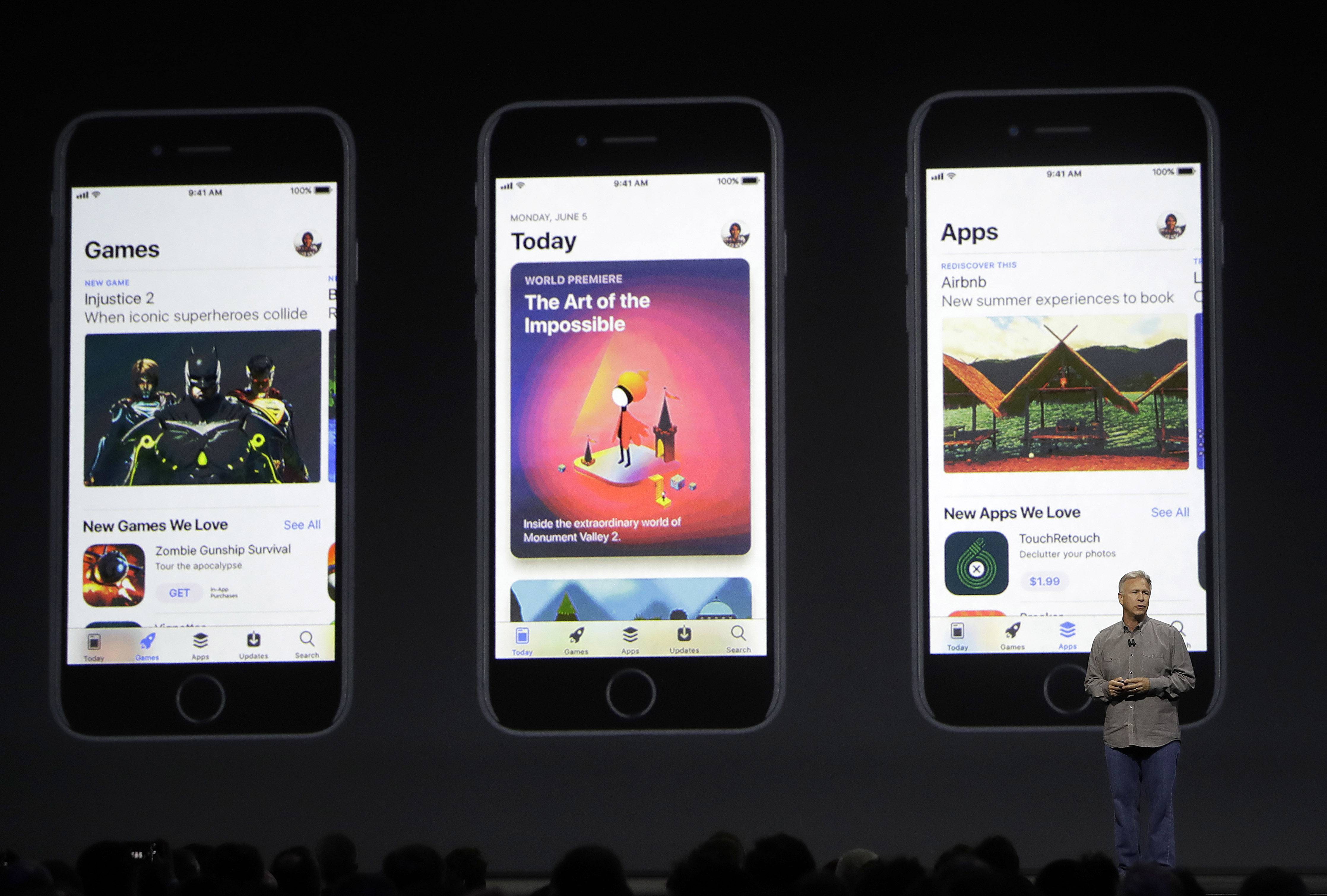Apple highlighted its new focus on augmented reality earlier this month at its Worldwide Developers Conference.