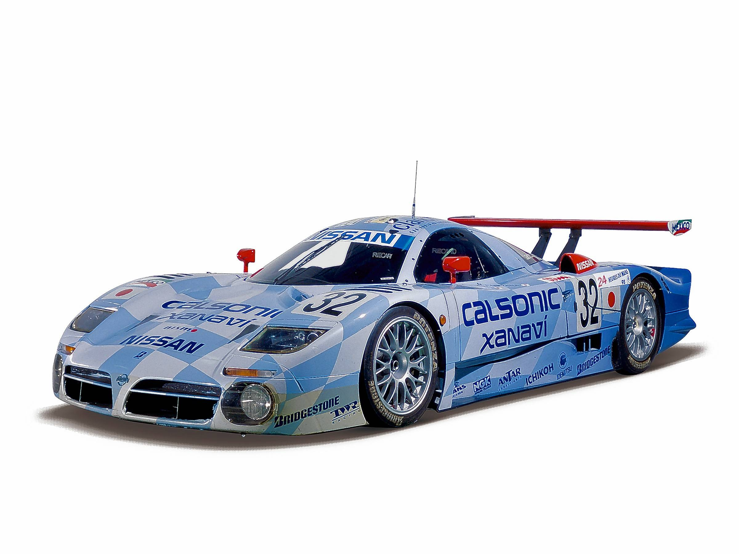 No. 9. Nissan R390 GT1, third place for Nissan at the 24 Hours of Le Mans in 1998.