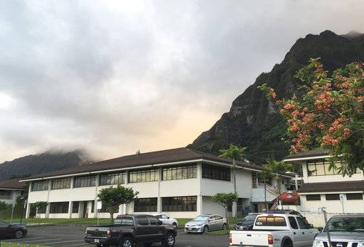 The Hawaii State Hospital is shown in Kaneohe, Hawaii, Tuesday, Nov. 14, 2017. The search for a dangerous man who escaped from the Hawaii psychiatric hospital moved to California after authorities said Tuesday he boarded a flight to the state from Maui two days earlier. Randall Saito, who was acquitted of a 1979 murder by reason of insanity, left the state hospital outside Honolulu on Sunday, took a taxi to a chartered plane that took him to the island of Maui and then boarded another plane to San Jose, California, Honolulu police said.